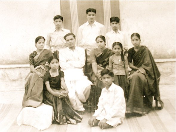 A Telugu politician's family