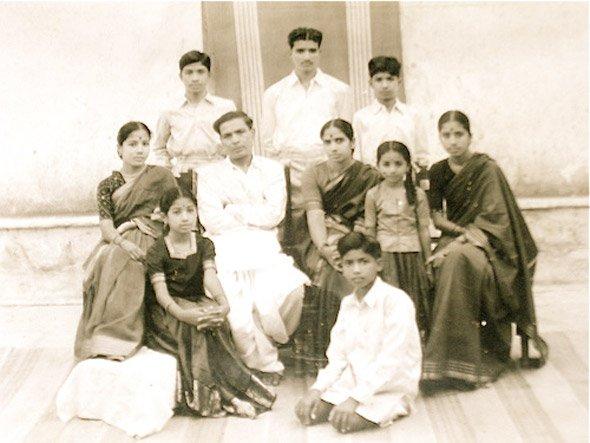 A Telugu politician's family