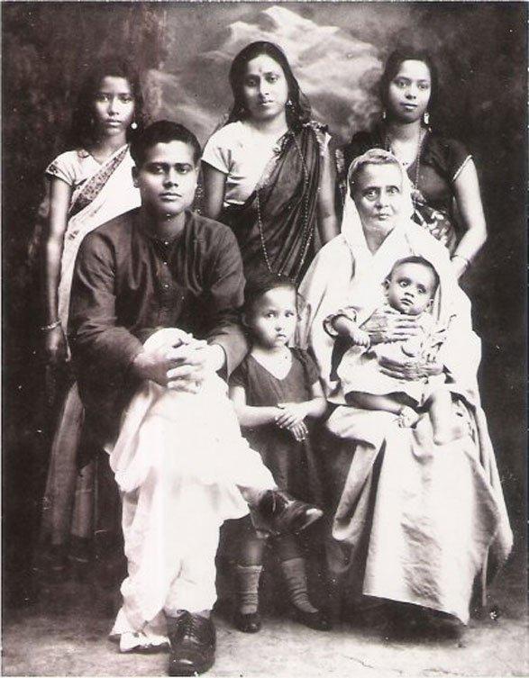 Bangladeshi Family portrait
