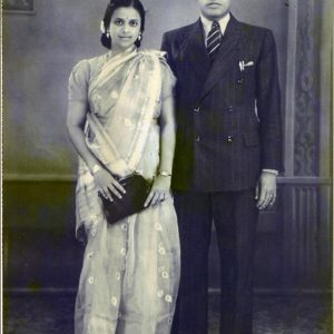 My grandmother, now married