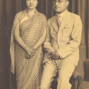 Shanta Bhandarkar as a grown up lady