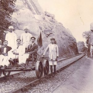 The men who donated land to the Railways of India