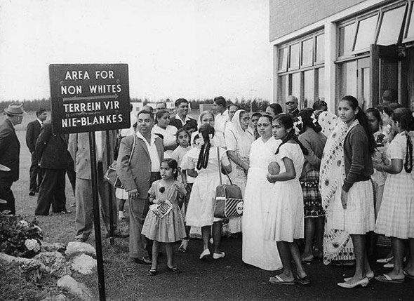 In midst of apartheid