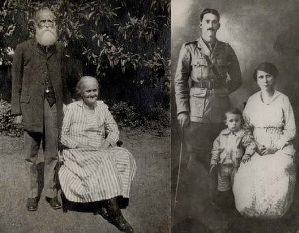 Six generations of a British Family in India.