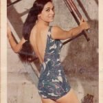 My Bua, Veena Sajnani, winner of the Miss India Crown, Bombay, Maharashtra. 1970
