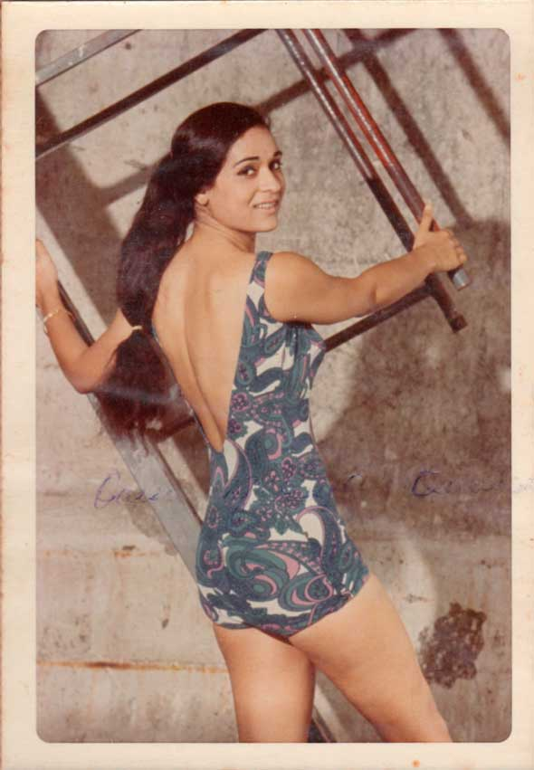 Winner of the 1970 Miss India crown