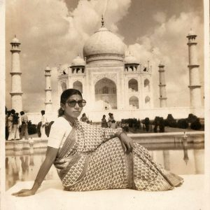 A visit to the Taj Mahal after returning an abducted girl to her family