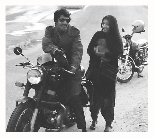 Soni and I. Faridabad. 1975