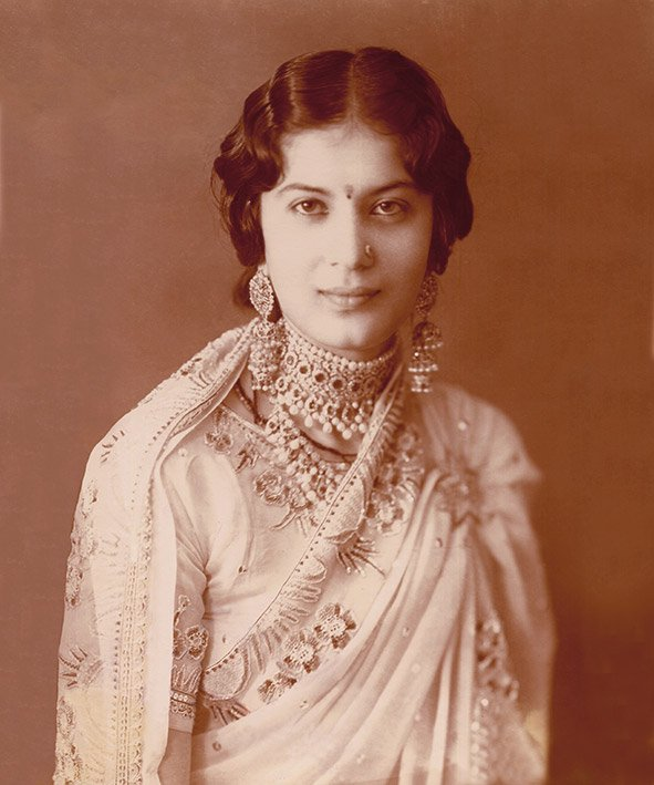 My grandmother Kanwarani Danesh Kumari, Circa 1933