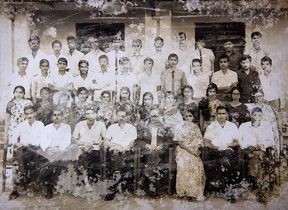 Class of  B.Sc (Bachelor of Science), Poorna Prajna College (PPC), Udupi district. Karnataka. Circa 1968.
