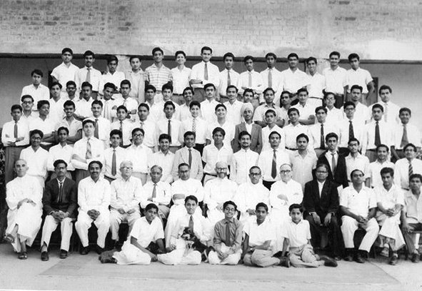 Batch of 59'. Loyolla Hall, St. Xavier's High School, Ahmedabad. State of Bombay (now Gujarat). January 24, 1959