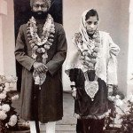 My Parents. Gurdial Singh and Rajkumari Berar.  p. Mainpuri, Lucknow, United Province. December 29, 1939.