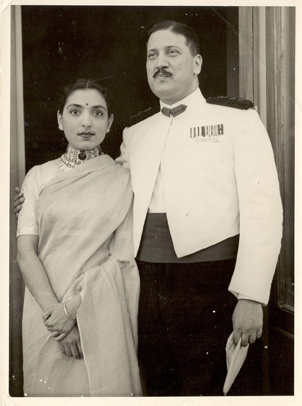 My grandparents Nalin and Sharda Nanawati. 1962. Bombay