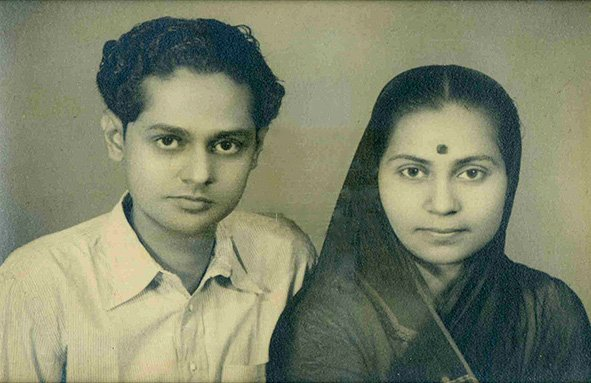 My parents, Tarun Coomar & Indira Bhaduri. Bhopal, Central Province (now Madhya Pradesh). Circa 1940