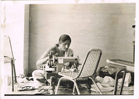 Across three continents with a sewing machine in tow