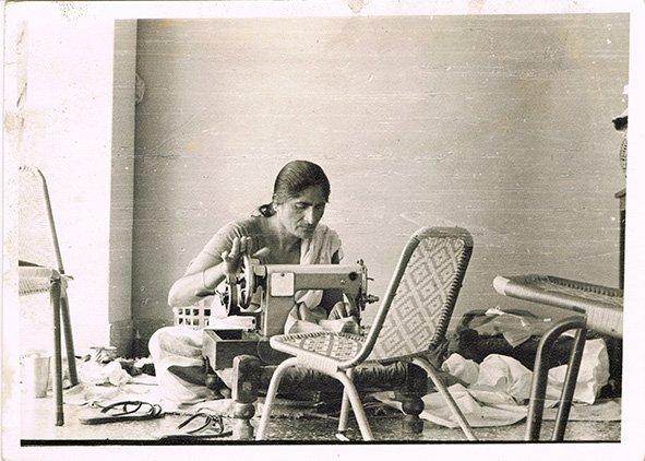 My mother, Satwant Kaur Virdee. Ludhiana, Punjab Circa 1967