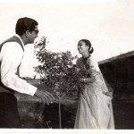 My parents, Umedrai and Hansa. Village Parivarnagar. 1963