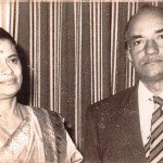 My grandparents, Bani and Radhika Karmakar . Bombay (now Mumbai). Maharashtra. 1972