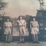 Standing in the middle, my grandfather George O'Brien. Delhi. Circa 1947