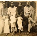 My grandfather with his brothers. Assam Burma Border. c