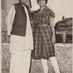 Gopal Sharman & Jalabala Vaidya. Rome, Italy. 1967