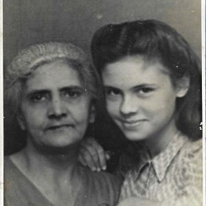 My grandmother's private past