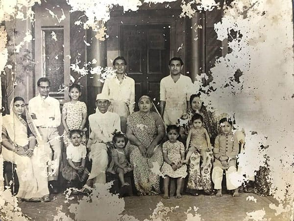 The Gujarati family in Madras